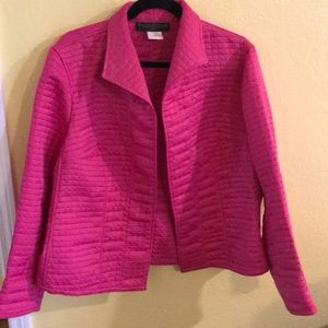 Harve benard 18w hot pink jacket blazer 2x